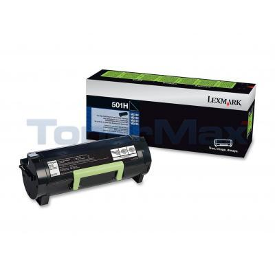 LEXMARK MS610 TONER CARTRIDGE RP 5K